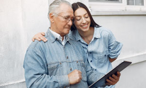 PROVIDING HELP FOR ELDERLY AND INFIRM PERSONS